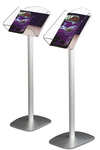 acrylic poster stand
